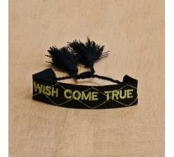 Bracelet tissé wish come true