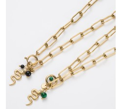 Stainless Steel Necklace (Short) ST06COL-198
