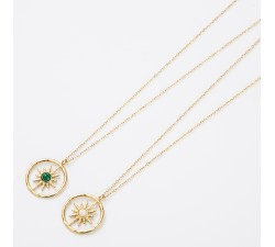 Stainless Steel Necklace (Short) ST04COL-22